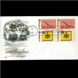 1968 US First Day 4 Block Postal Cover (STM-2765)