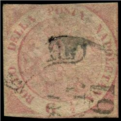 1858 Naples 1/2g Stamp (STM-0970)