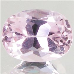 6.45ct Hot Pink Kunzite Oval (GEM-43007)