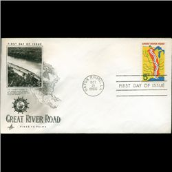 1966 US First Day Postal Cover (STM-2588)
