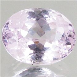 4.45ct Hot Pink Kunzite Oval (GEM-43012)