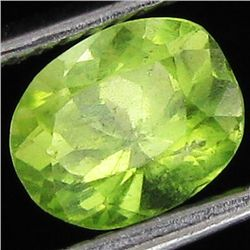 1.2ct Clean Green Peridot Oval (GEM-43601)