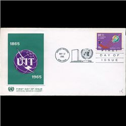 1965 UN First Day Postal Cover (STM-2495)