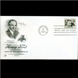 1968 US First Day Postal Cover (STM-2701)