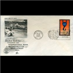 1960 UN First Day Postal Cover (STM-2312)