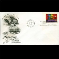 1967 UN First Day Postal Cover (STM-2683)