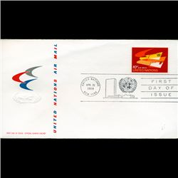 1969 UN First Day Postal Cover (STM-2790)