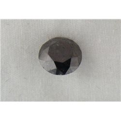 2.38 Carat Black Loose Diamond Opaque-A! Clarity