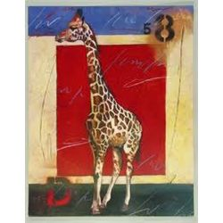 Elizabeth Matrozos Giraffe Art Print Jungle Patterns II