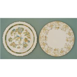 2 Sango Dinner Plates Jade Garden, Persian Wood