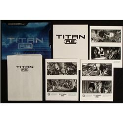 Titan A.E Press Kit Animated Science Fiction Movie