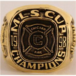 1998 Chicago Fire MLS Replica Championship Ring