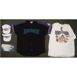 Arizona Diamondbacks Lot- Jersey Hats T-Shirt