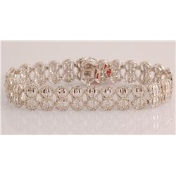 3.43 ct Diamond Bracelet