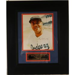 Autographed Photograph of Roy Campanella