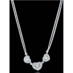 18K 2.01ct Diamond Necklace