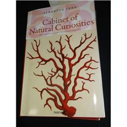 Cabinet Of Natural Curiosities Book Dated  1734-1765 With Dust Cover