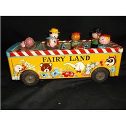 Fairyland Bus Battery Operated Made in Japan