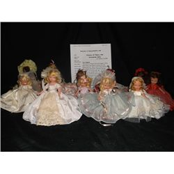 14 Vintage Bisque Nancy Ann Story Book Dolls Queen of Hearts-Snow Queen-Sea Saw - and more  these do