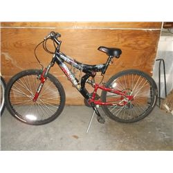 "Red & Black mongoose xr 26"" 15 speed"