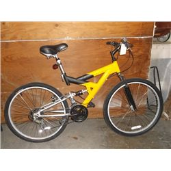 "Yellow & Black 26"" mt. Bike"