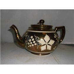 Aurthur Wood Tea Pot Marked & Numbered