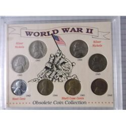World War ll Coin Set World War ll Obsolete Coin collection