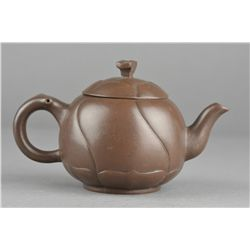 Chinese Yixing Pottery Tea Pot Marked