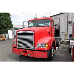 1997 RED FREIGHTLINER TRACTOR TRAILER TMU