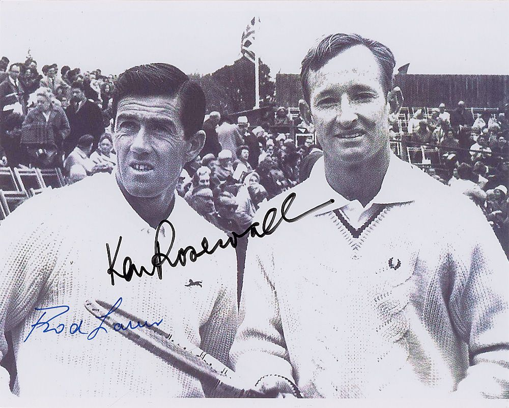 Ken Rosewall and Rod Laver