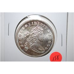 "Silver Round ""Liberty Bust""; .999 Fine Silver 1 Oz.; EST. $30-40"