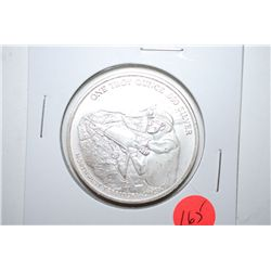 "Pan American Silver Corp Silver Round ""Northwest Territorial Mint""; .999 Fine Silver 1 Oz.; EST. $30"