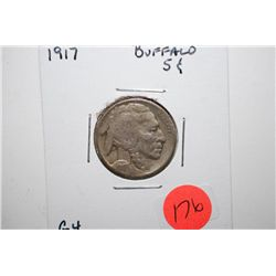 1917 Buffalo Nickel; G4; EST. $5-10
