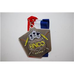 SNCO Induction Ceremony Military Challenge Medal With Cloth Necklace; EST. $5-10