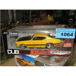 Big time muscle 1969 chevrolet chevelle diecast