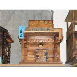 Hand crafted wooden Lings laundry building