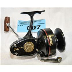 Vintage mitchell pro 498 fishermans spinning reel for Old mitchell fishing reels