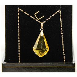 Estate 14Kt Gold Pendant