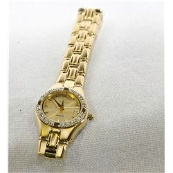 Ladies Elgin Watch with 12 Diamonds