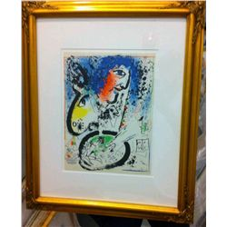 Marc Chagall - Self Portrait, Framed