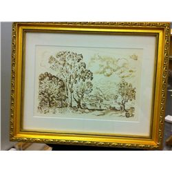 Paul Signac - Antibes, Framed