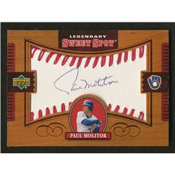 2002 Sweet Spot Legendary Signatures #PM Paul Molitor