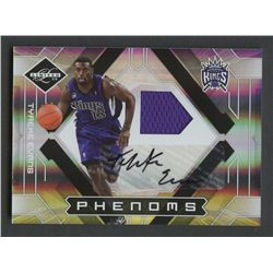 2009-10 Limited #154 Tyreke Evans Jersey Autograph RC #182/299