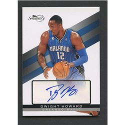 2008-09 Topps Signature Autographs #TSADH Dwight Howard #2009/2499