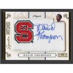 2009-10 Playoff National Treasures Signature Patches College #9 David Thompson #20/27