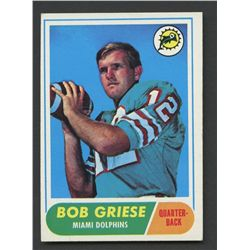 1968 Topps #196 Bob Griese RC