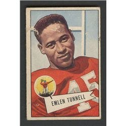 1952 Bowman Small #39 Emlen Tunnell