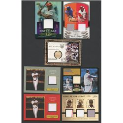 Lot of (7) Vladimir Guerrero Game-Used Baseball Cards (BV $92)