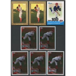 Lot of (21) Stephen Strasburg Cards with Rookie Cards & Refractors (BV $226)