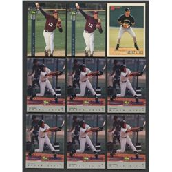 Lot of (26) Derek Jeter Cards with Bowman RC, Topps RC, Score RC (BV $190+)